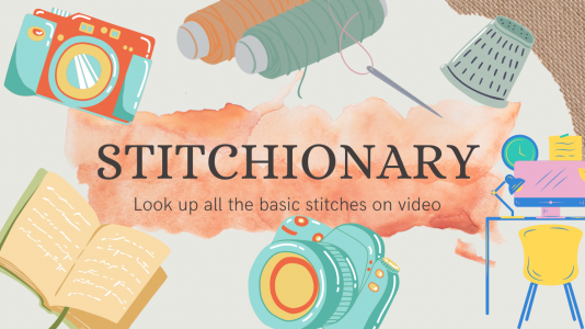 Look up all the basic stitches on video